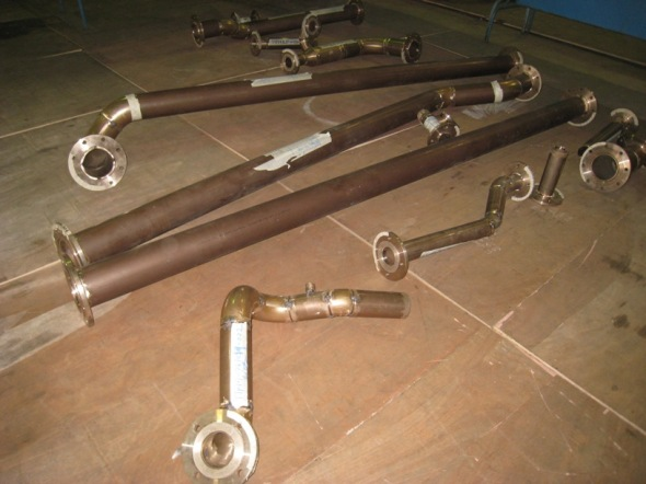 Pipework fabrication