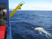 Southern Surveyory towing a manta net