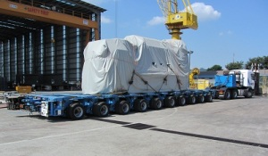 RV Investigator's engine arrives in Singapore