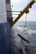 Marine debris research onboard Southern Surveyor
