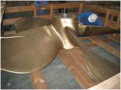 RV Investigator's propeller