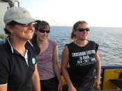 Research voyage onboard Southern Surveyor to the Ombai Strait (image Alicia Navidad)