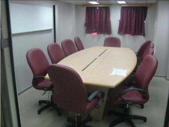 RV Investigator's small conference room