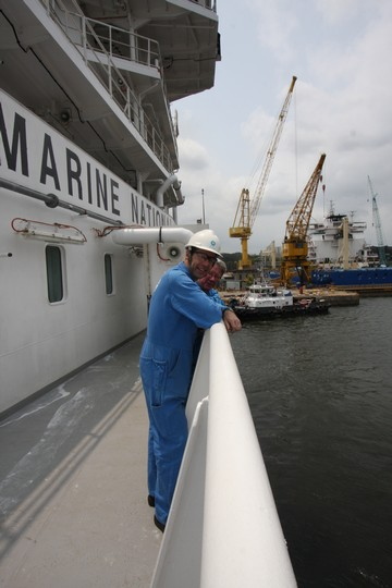 RV Investigator on sea trials