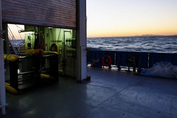 RV Investigator - TRIAXUS trial voyage 1 (image MNF/Stewart Wilde)