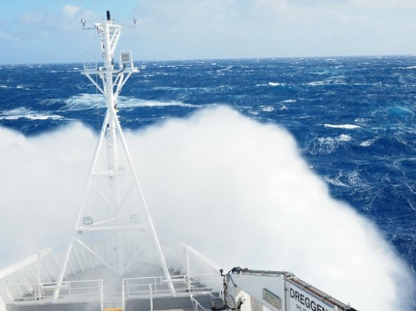 RV Investigator in rough weather in the Southern Ocean 3 (image MNF + Stewart Wilde)LR